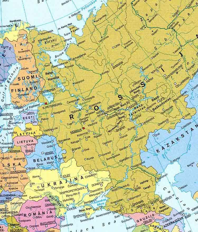 Reiselaender Und Regionen Europa Russland